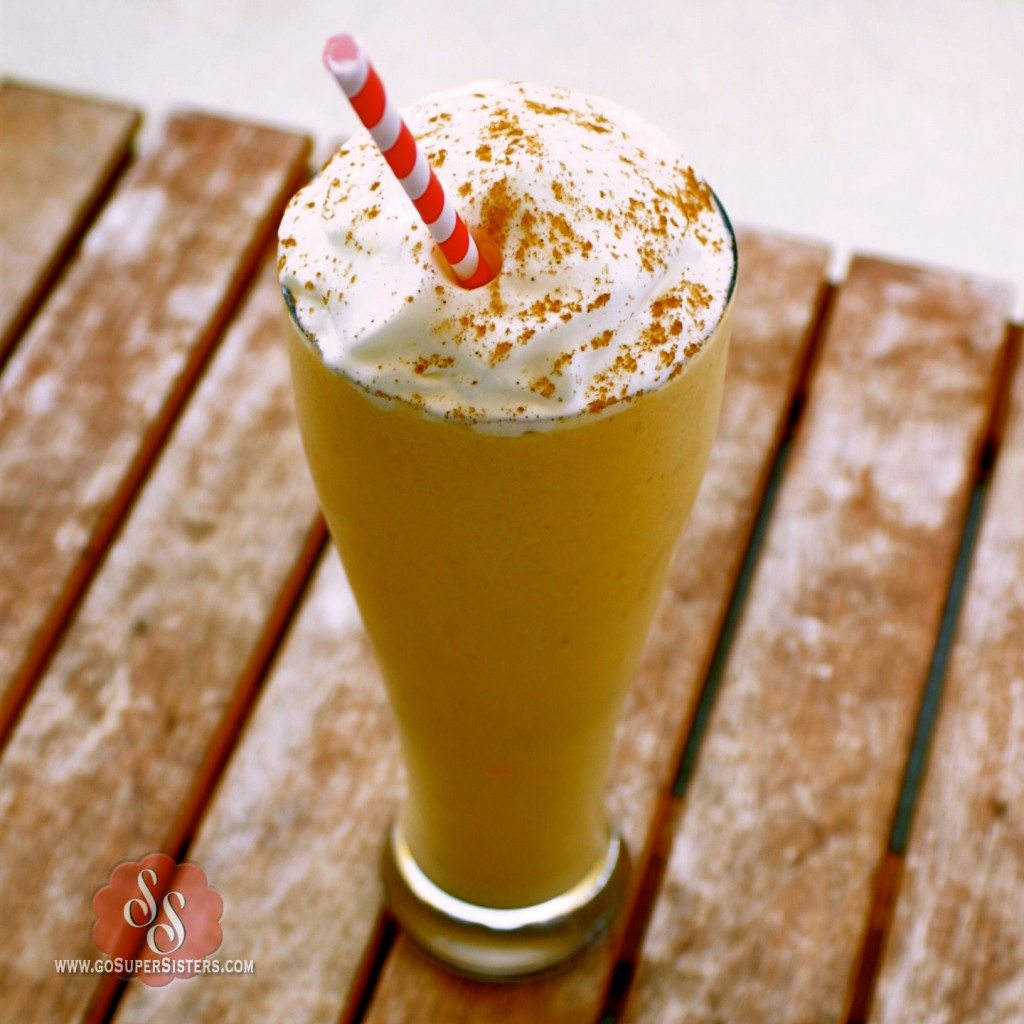 pumpkin pie milkshake over the summer pumpkin pie milkshake recipe a ...