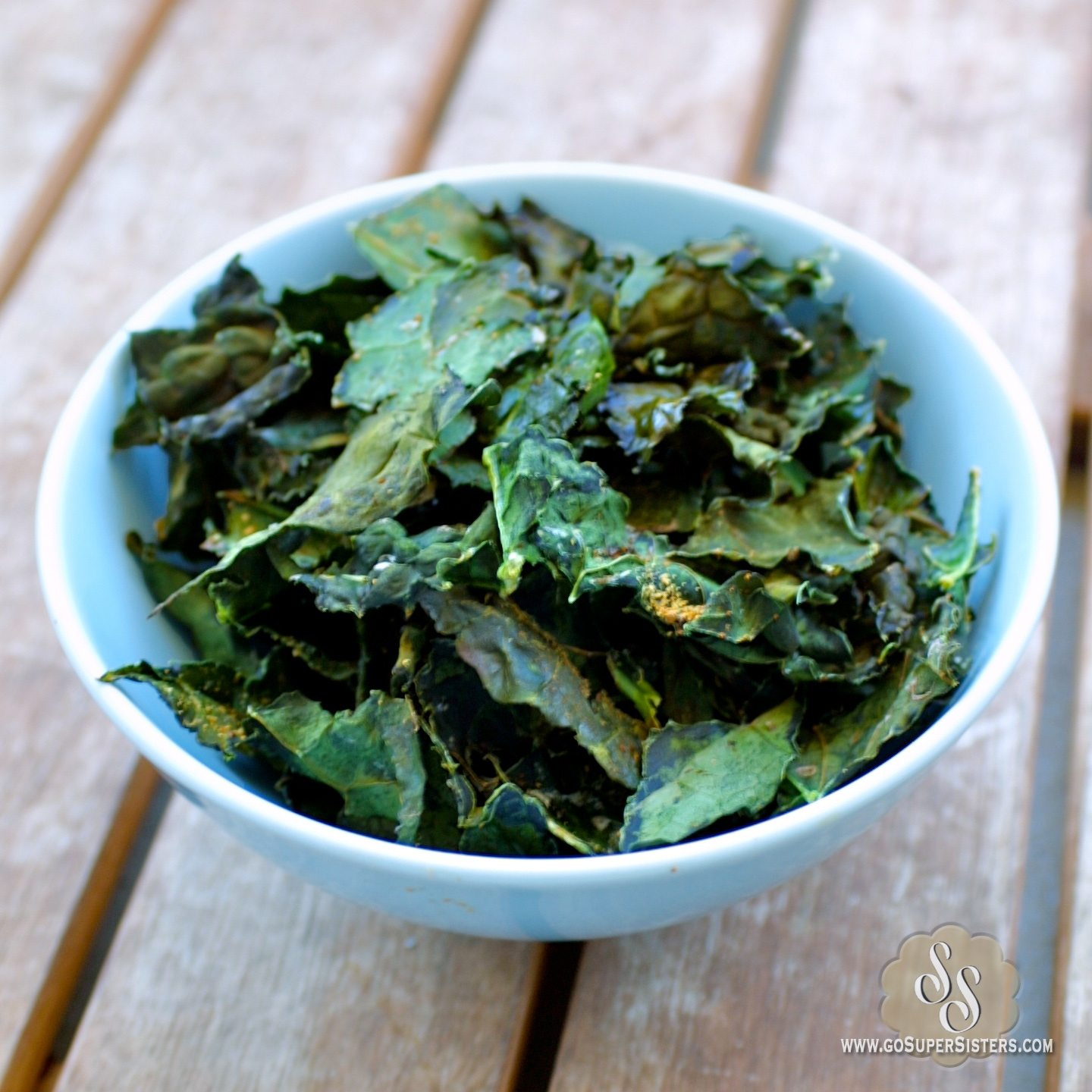 Baked Kale Chips - Super Sister Fitness