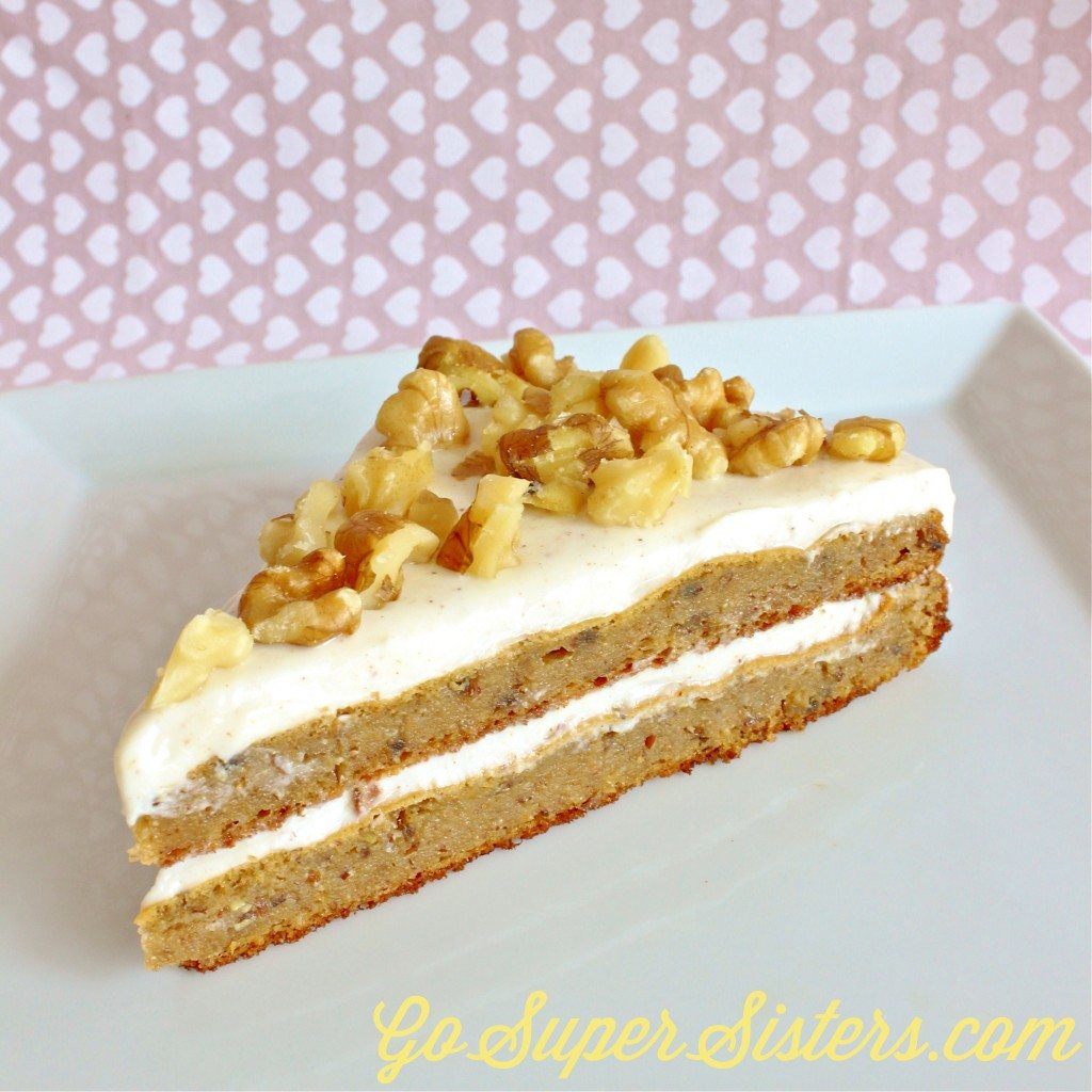 Almond Meal Protein Carrot Cake