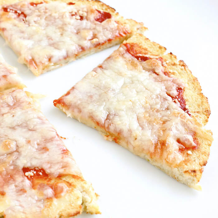 Healthy Cauliflower Pizza Crust Recipe - Super Sister Fitness