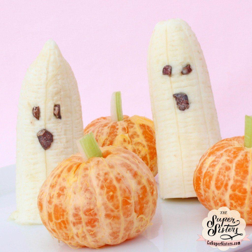 ghost pumpkin fruit snacks