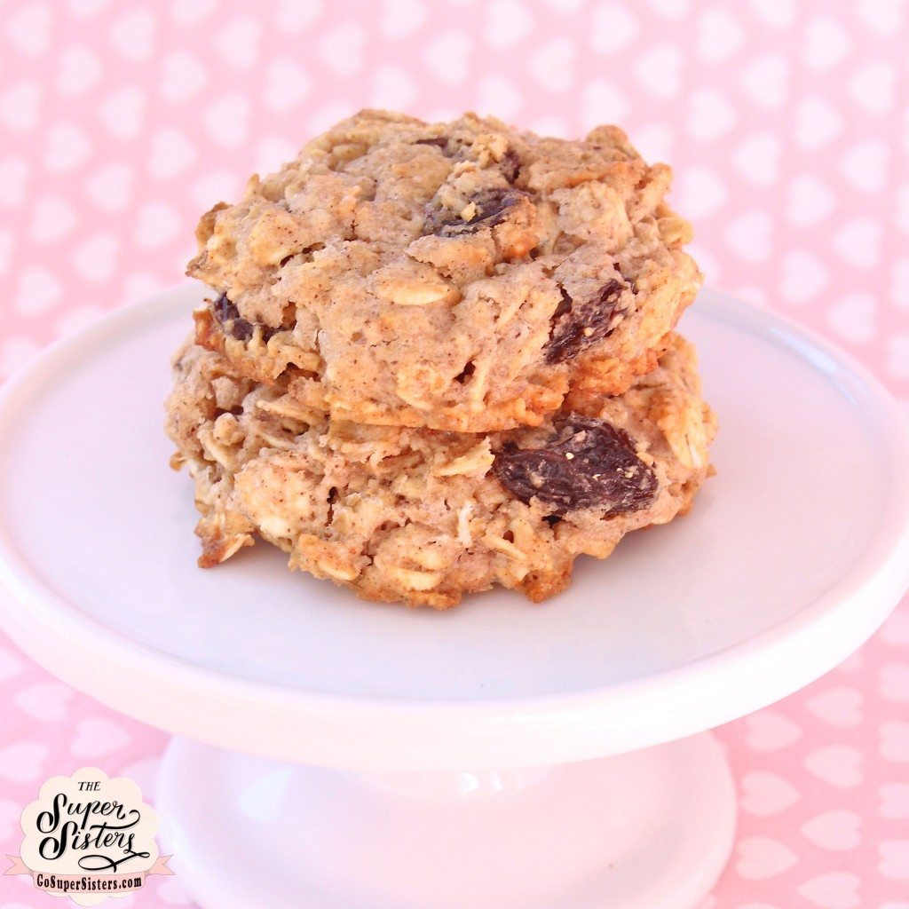 Oatmeal Raisin Cookies - Super Sister Fitness