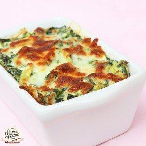 healthy Spinach and Artichoke Dip recipe