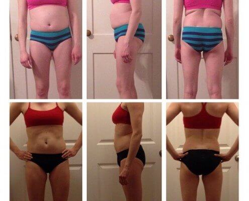 super sister fitness before and after