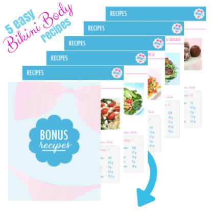 5 free Bikini Body recipes