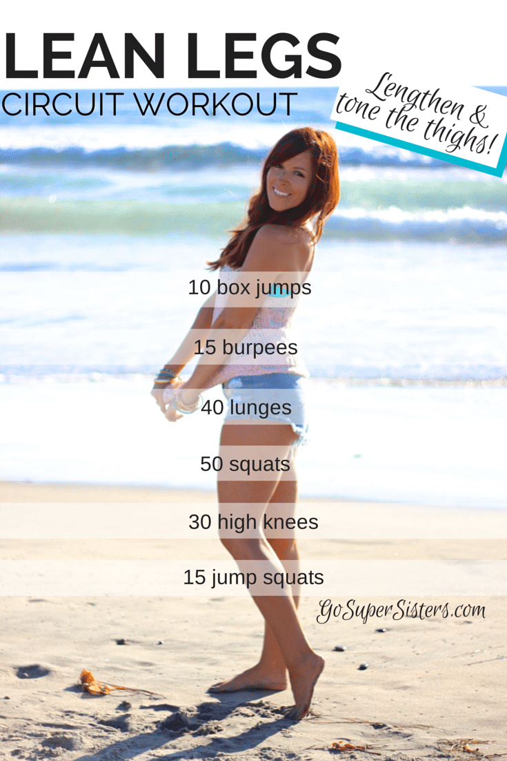thigh toning workout