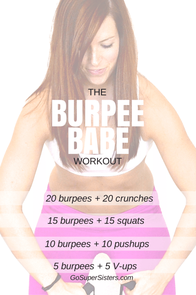Burpee Babe Workout