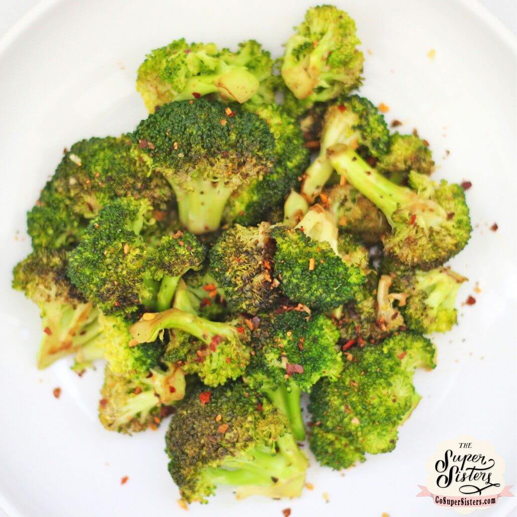 Roasted Garlic & Lemon Broccoli