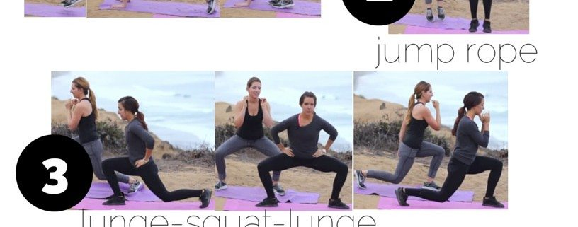 5x5 Workout - Tone the Arms, Legs and Abs | Super Sister Fitness