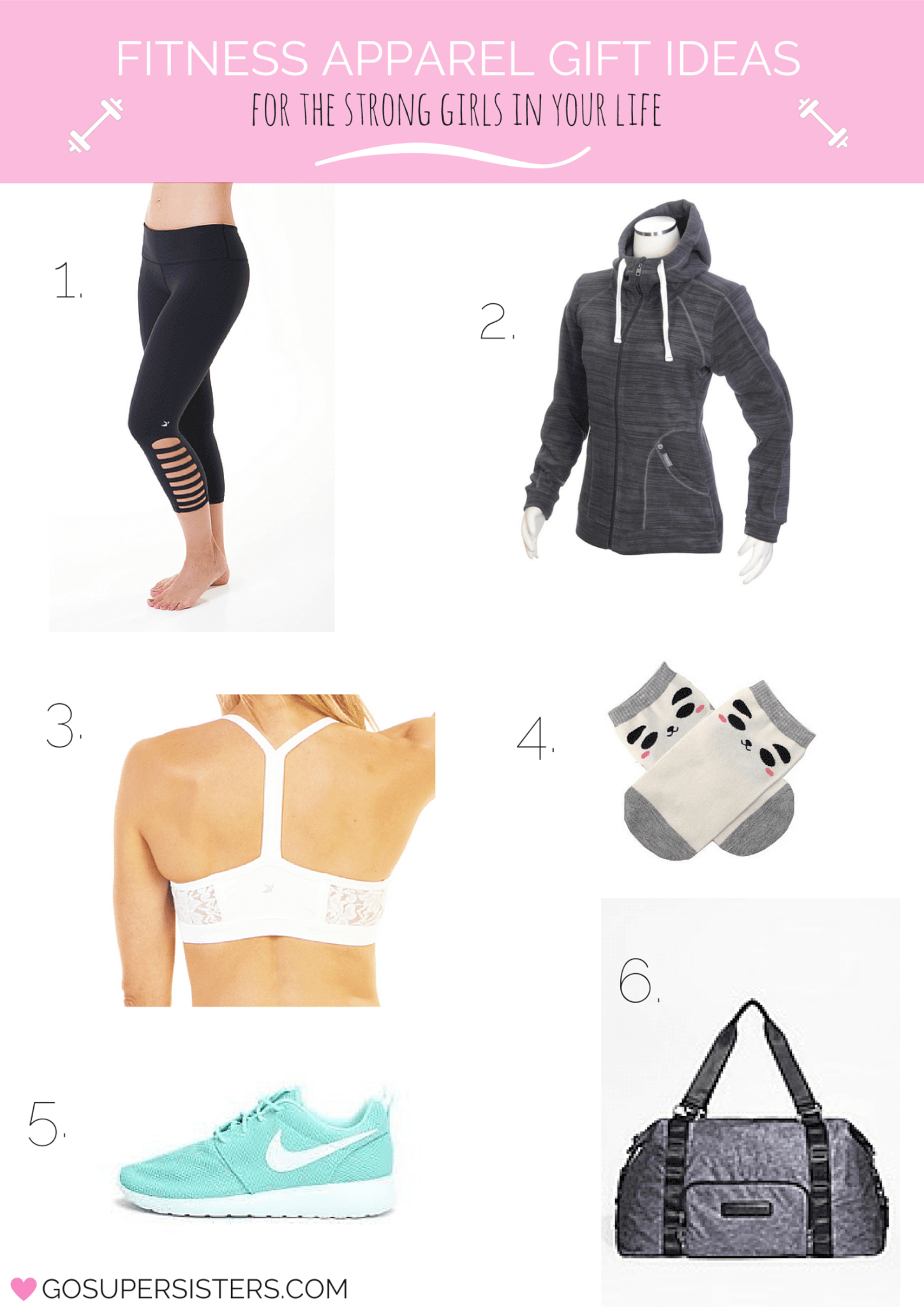 Fitness Apparel Gifts