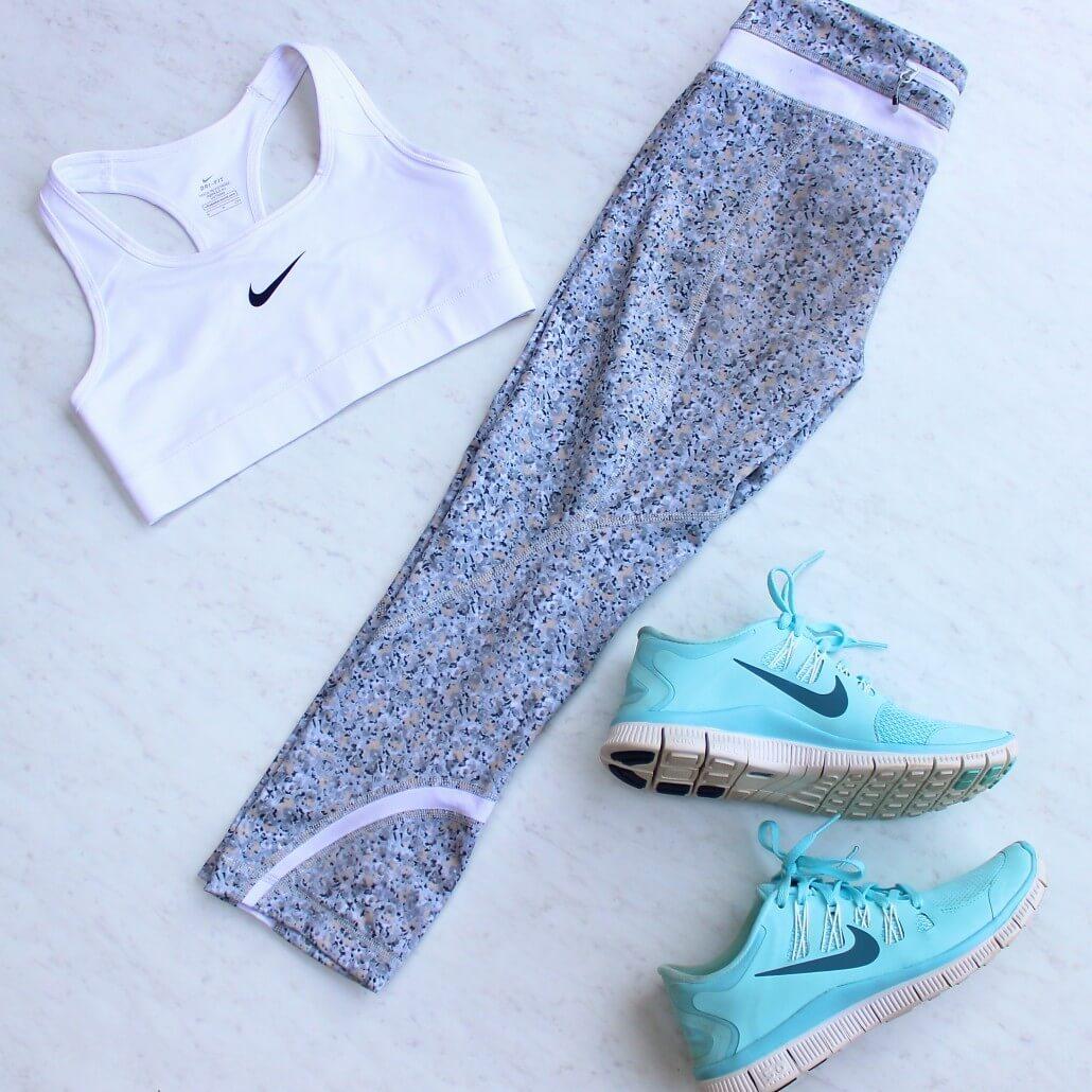Nike shoes and Nike bra