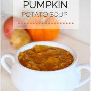 healthy pumpkin potato soup recipe