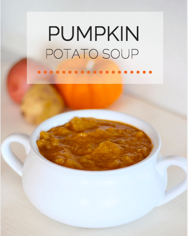 healthy pumpkin potato soup recipe