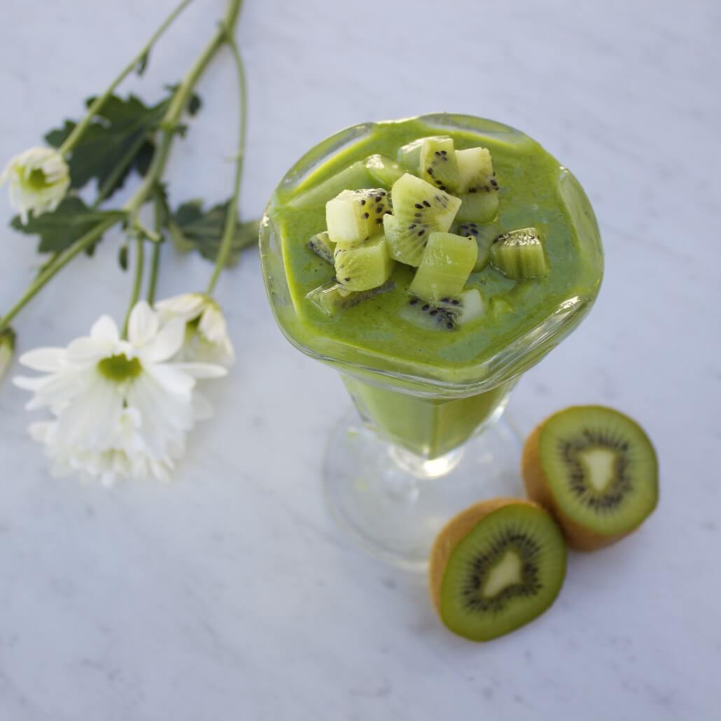 kiwi green smoothie for weight loss