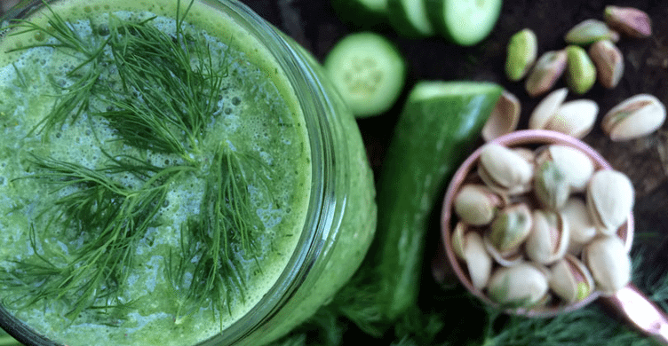 Dill and Cucumber Smoothie_Feature