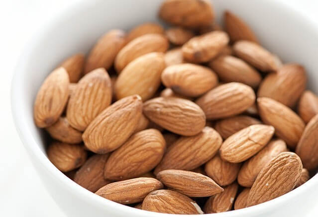 fat burning foods almonds