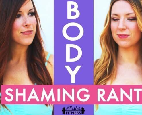 super sister fitness body shaming rant