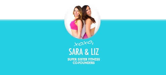 Super Sister Fitness signature