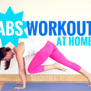 Abs Workout at home for women