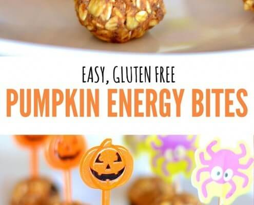 Easy, healthy Pumpkin Spice Energy Bites