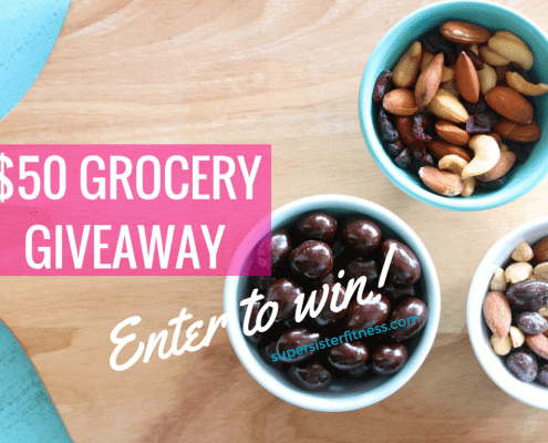 $50 grocery giveaway - enter to win