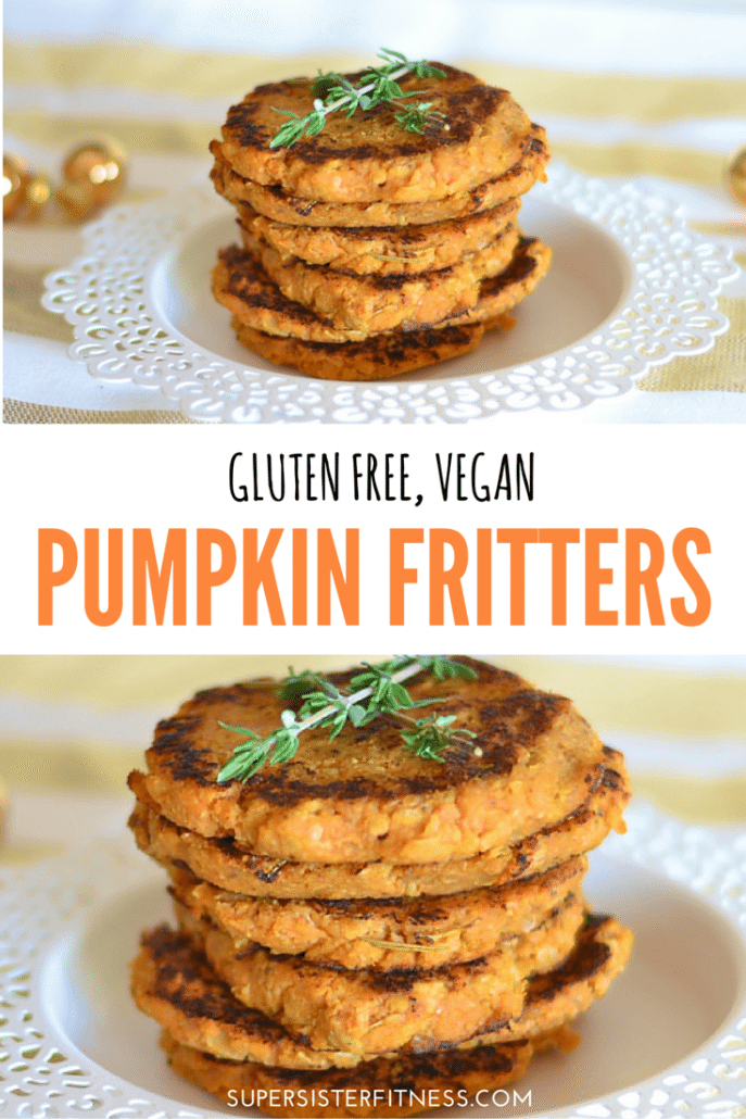 Pumpkin Fritters   Healthy Holiday Recipes - Super Sister Fitness
