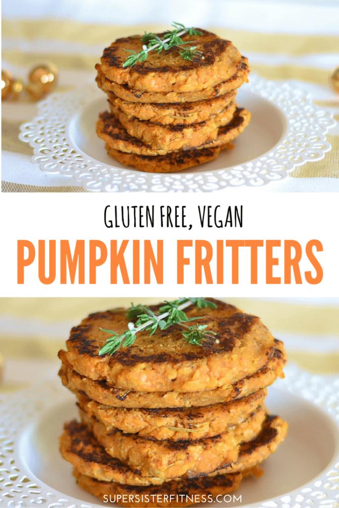 Gluten free pumpkin fritters recipe