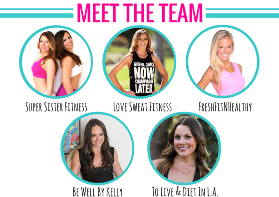 Super Sister Fitness Blog Collab | Meet the Team