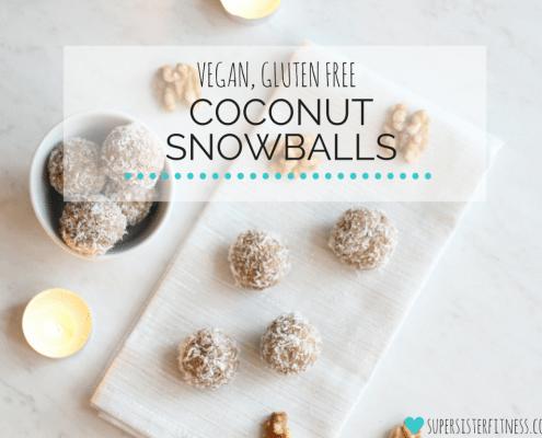 Healthy Holiday Recipes - Vegan Dessert! Coconut Superfood Snowballs