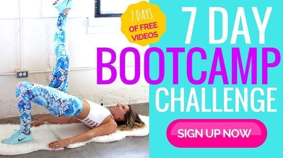 Take the free Bikini Bootcamp 7 Day Challenge