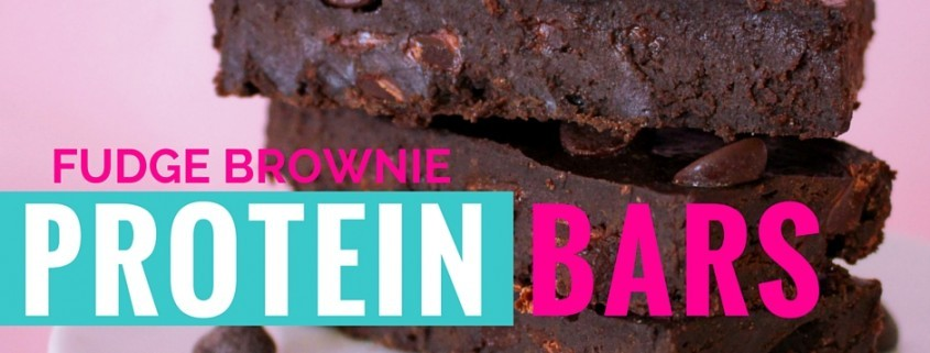 Homemade Fudge Brownie Protein Bar recipe