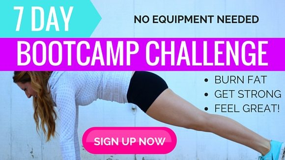Workout free for 7 days with Bikini Bootcamp