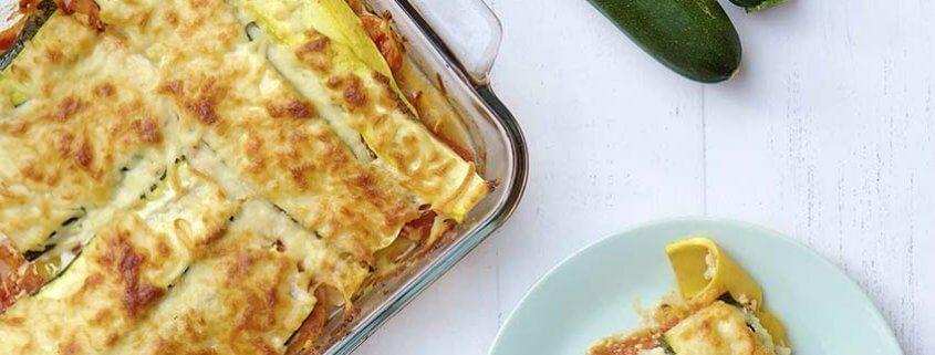 Zucchini Squash Lasagna