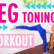 Leg Toning Workout