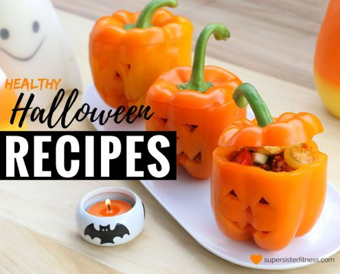 healthy halloween recipes featured