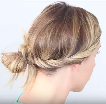 french-twist-messy-bun