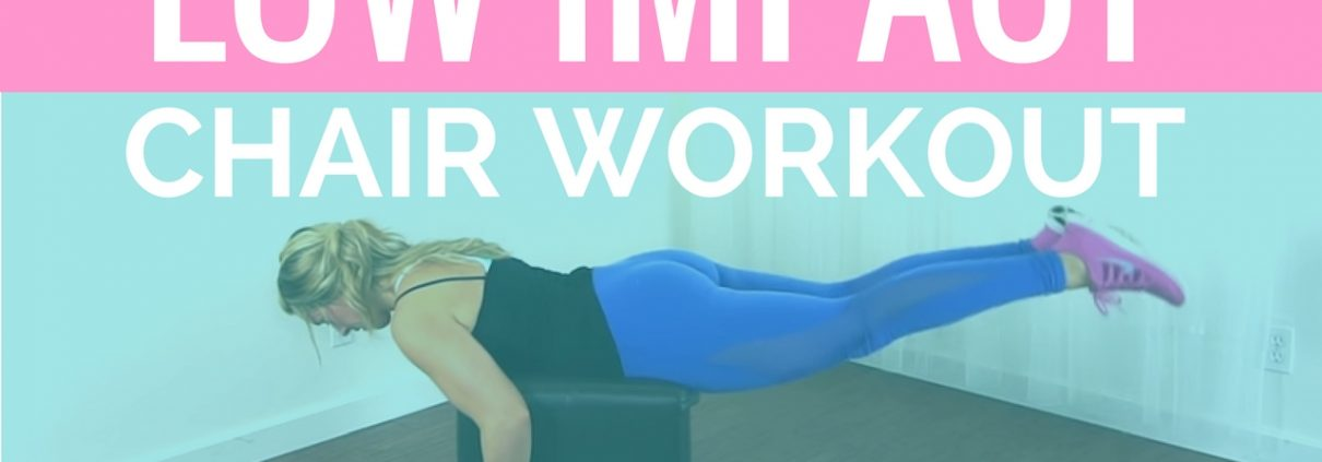 low impact chair workout