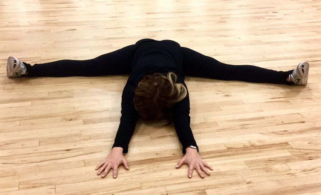 straddle super sister fitness flexibility danskin now