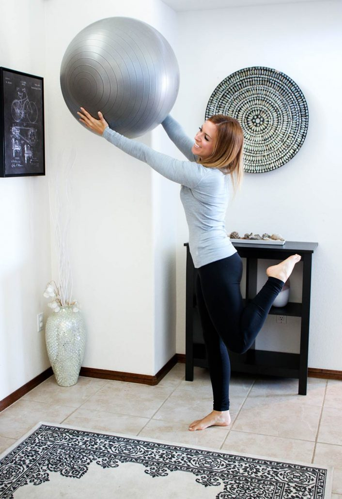 Liz exercise ball