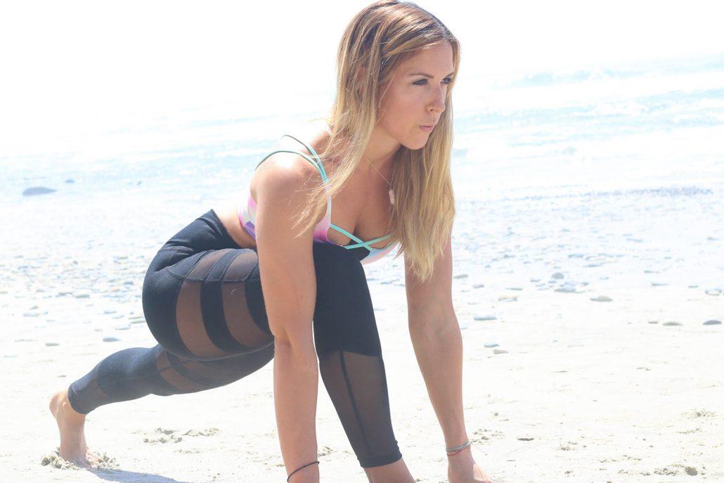 super sister fitness liz-lunge