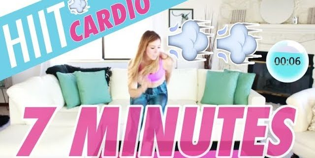 quick hiit cardio workout